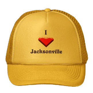 Jacksonville -- Red & Black Hat