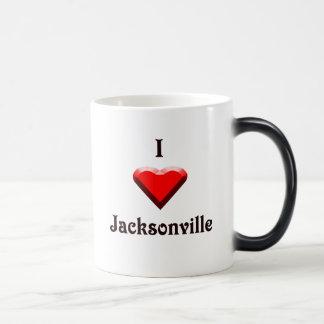 Jacksonville -- Red & Black Mugs
