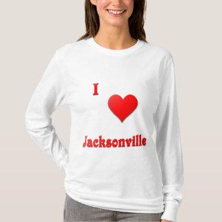 Jacksonville -- Red T-Shirt