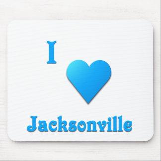 Jacksonville -- Sky Blue Mouse Pad