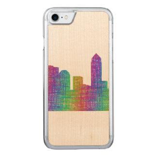Jacksonville skyline carved iPhone 8/7 case