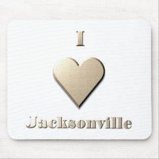 Jacksonville -- Steel Tan Mouse Pad