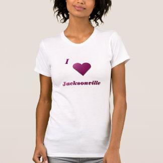 Jacksonville -- Wine T-Shirt
