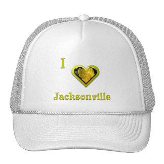 Jacksonville -- with Yellow Flower Trucker Hats