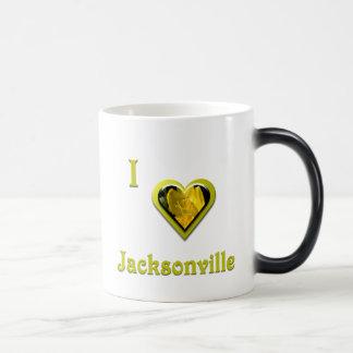 Jacksonville -- with Yellow Flower Mug