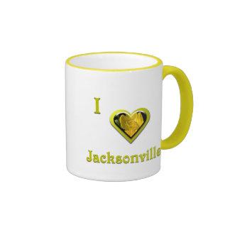Jacksonville -- with Yellow Flower Mugs