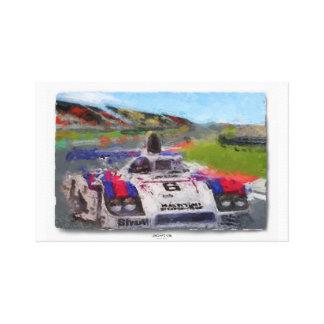 JACKY's 936 - Digitally Artwork Jean Louis Glineur Canvas Print