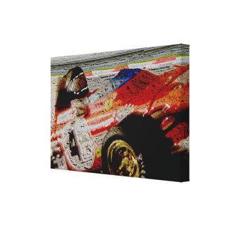 JACKY's MONOPOSTO '72 - Artwork Jean Louis Glineur Canvas Print