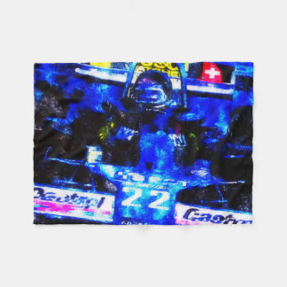 JACKY's MONOPOSTO - digitally Artwork by JLG Fleece Blanket