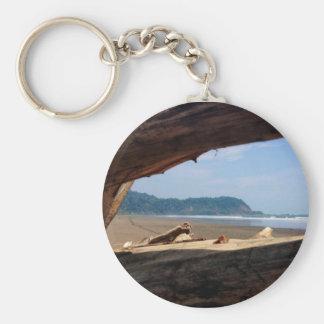 Jaco Beach, Costa Rica Basic Round Button Key Ring