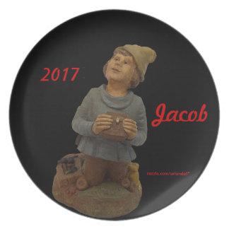 JACOB-2017 GIFT FOR MOTHER MELAMINE PLATE