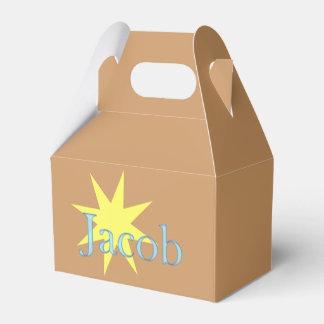 Jacob Party Favor Boxes