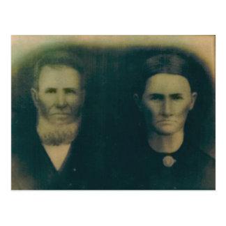 Jacob H. B. & Martha Jane (Russell) Miller Postcard