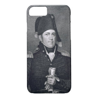 Jacob Jennings Brown (1775-1828) engraved by Asher iPhone 8/7 Case