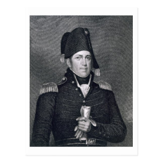 Jacob Jennings Brown (1775-1828) engraved by Asher Postcard