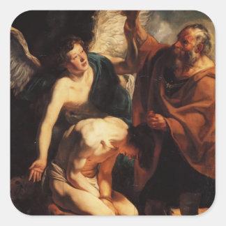 Jacob Jordaens- The Sacrifice of Isaac Sticker