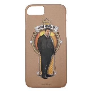 Jacob Kowalski Art Deco Panel iPhone 8/7 Case