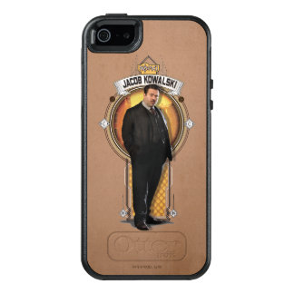 Jacob Kowalski Art Deco Panel OtterBox iPhone 5/5s/SE Case