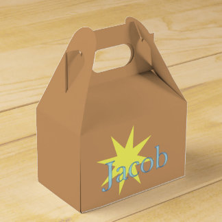 Jacob Party Favour Boxes