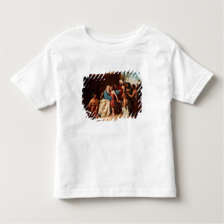 Jacob refusing to release Benjamin, 1829 (oil on c Toddler T-Shirt