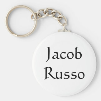 Jacob Russo Keychain White