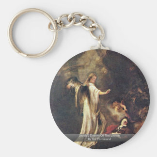Jacob S Dream Of The Ladder By Bol Ferdinand Keychains