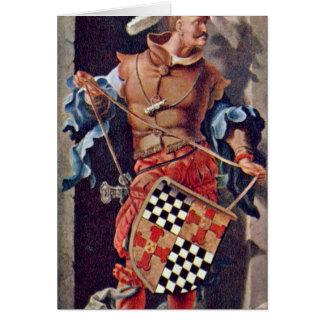 Jacob Van Montfort Florisz By Lucas Van Leyden Greeting Card