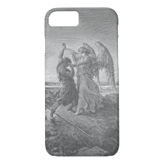 Jacob Wrestling with the Angel iPhone Case