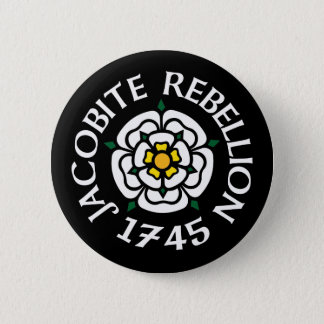 Jacobite 1745 6 cm round badge