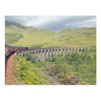 Jacobite at Glenfinnan Postcard