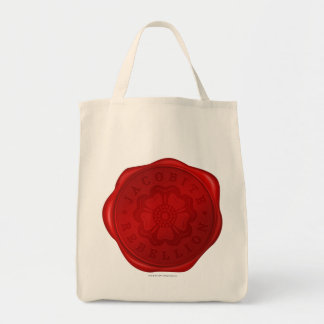 Jacobite Rebellion Wax Seal Grocery Tote Bag
