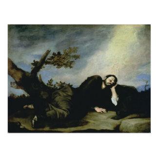 Jacob's Dream, 1639 Postcard