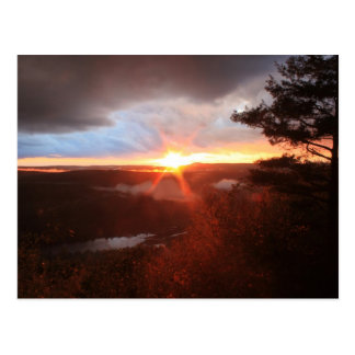 Jacobs Hill Storm Sunset Royalston MA Post Cards