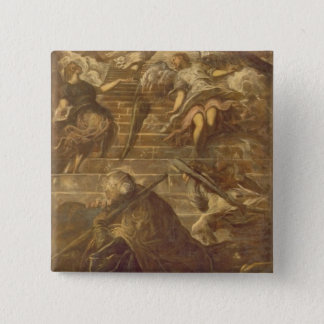 Jacob's Ladder (oil on canvas) 15 Cm Square Badge