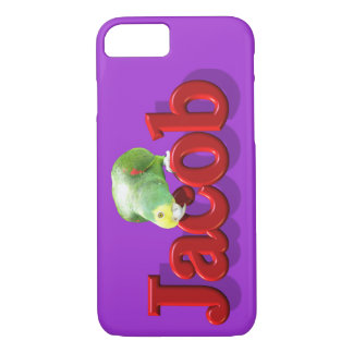 Jacob's Phone Case with Parrot