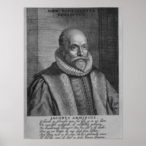 Jacobus Arminius Poster
