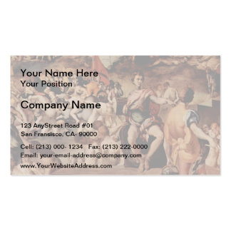 Jacopo Pontormo- Ten thousand martyrs Pack Of Standard Business Cards