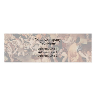 Jacopo Pontormo- Ten thousand martyrs Pack Of Skinny Business Cards