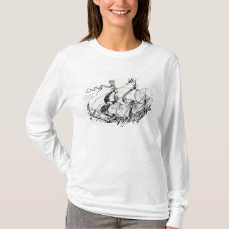 Jacques Cartier's ship, 'Rarete Indes T-Shirt