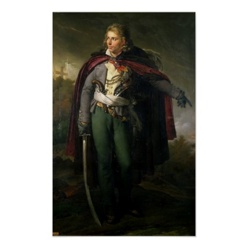Jacques Cathelineau  1824 Poster