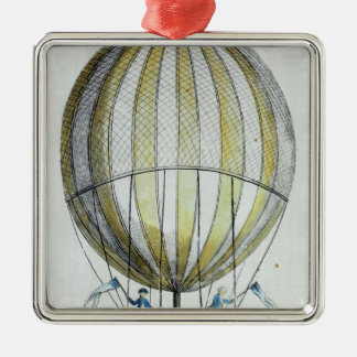 Jacques Charles and Nicholas Robert's  Balloon Christmas Ornament