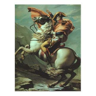 Jacques-David- Napoleon Crossing the Alps Postcard