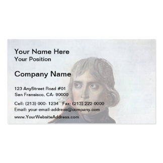 Jacques David-Portrait of General Bonaparte Pack Of Standard Business Cards