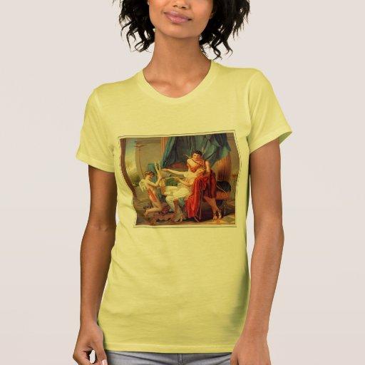 Jacques-Louis David- Sappho and Phaon Tshirt