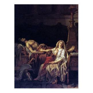 Jacques-Louis David- The Pain of Andromache Postcard