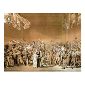 Jacques-Louis - Tennis Court Oath, 20th June 1789 Postcard