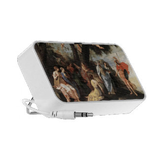 Jacques Stella- Minerva with the Muses Portable Speaker