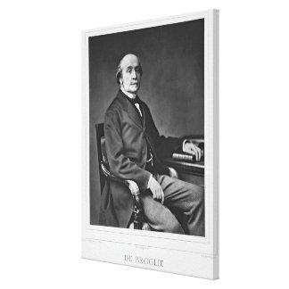 Jacques Victor Albert de Broglie (1821-1901), from Canvas Print