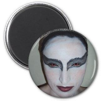 Jacqui B Black Swan Magnet