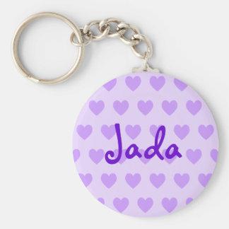 Jada in Purple Key Chain